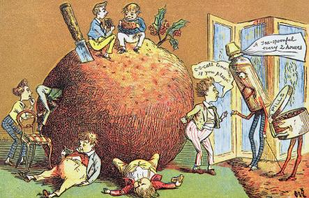 the-christmas-pudding-a-victorian-christmas-card-english-school